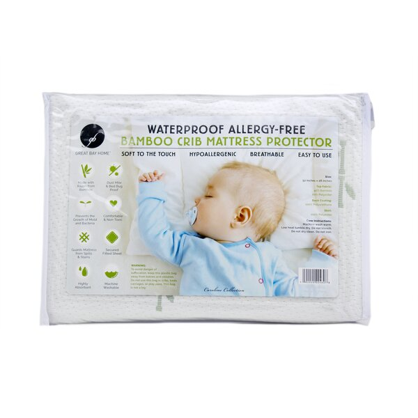 100% Waterproof and Hypoallergenic Crib Mattress Protector by Home Fashion Designs